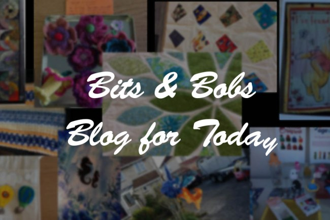 Bob's Blog for Today