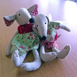 Boy and girl mouses