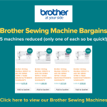 Brother Sewing Machine Bargains