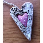 Rustic Distressed Hearts