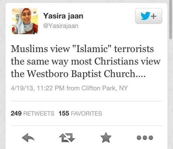 Muslims view of terrorists