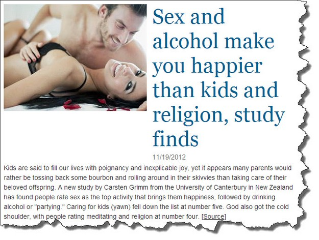Sex and alcohol