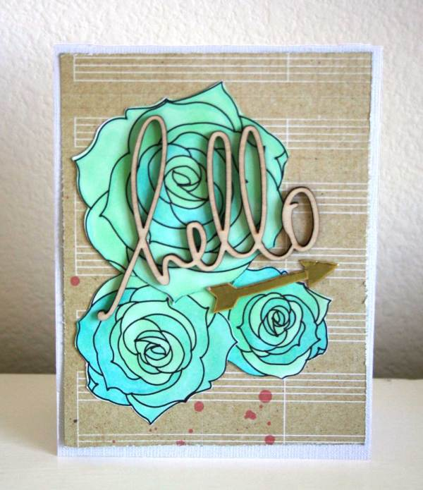 Bold Flower Stamps