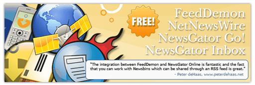 NewsGator, FeedDemon Gratis