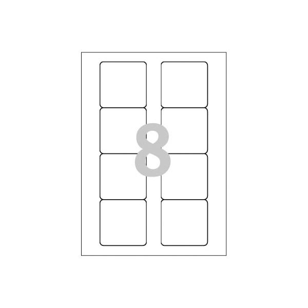 Avery Zweckform L4740REV-25 Disketten-Etiketten 70x67,7 mm