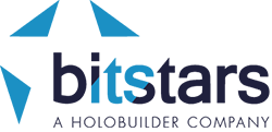 bitstars – a HoloBuilder company Logo