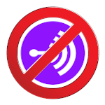 No Anchor (no entry) logo