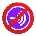 No Anchor (no entry) logo
