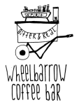 coffee catering // wheelbarrow bar