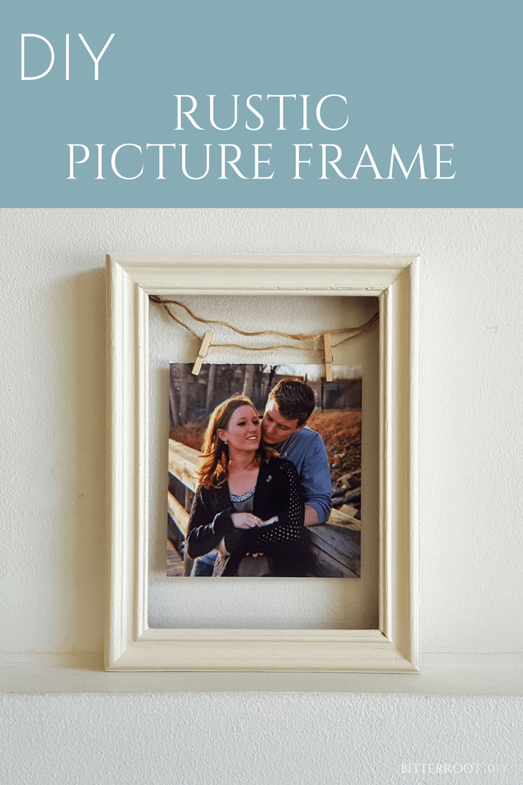 Upcycled Rustic Picture Frame