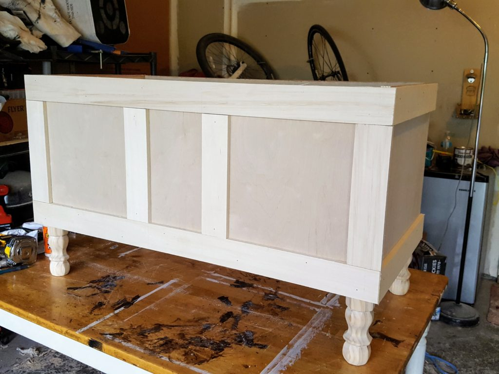 DIY Storage Chest Step 4