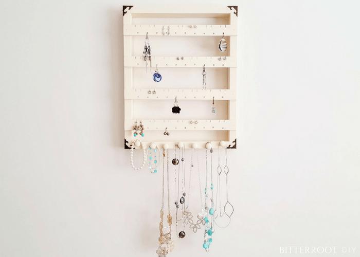 DIY Jewelry Organizer Bitterroot DIY