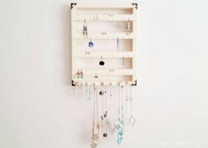 DIY Jewelry Organizer Display
