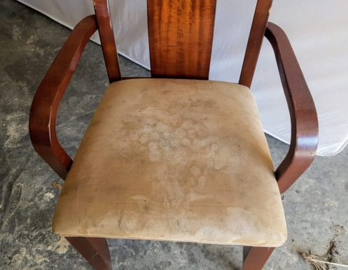 remove existing upholstery