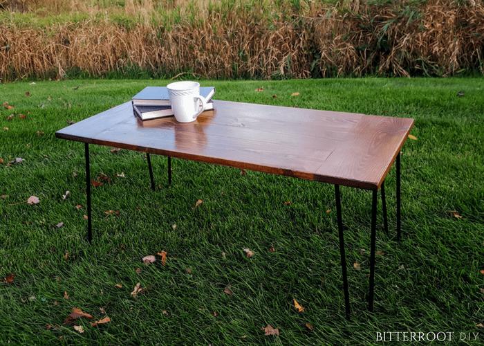 DIY Rustic Industrial Coffee Table