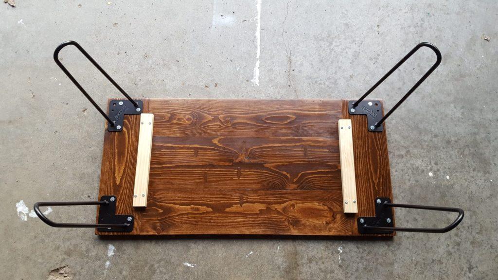 DIY Industrial Rustic Coffee Table