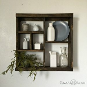 Cubby Kitchen Rack by Sawdust-2-Stitches