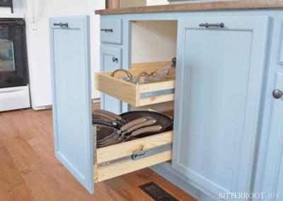 Kitchen Cabinet Organizers - Pots & Pans Storage