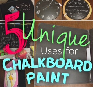 5 Unique Uses for Chalkboard Paint -The Bitty-Bits Blog