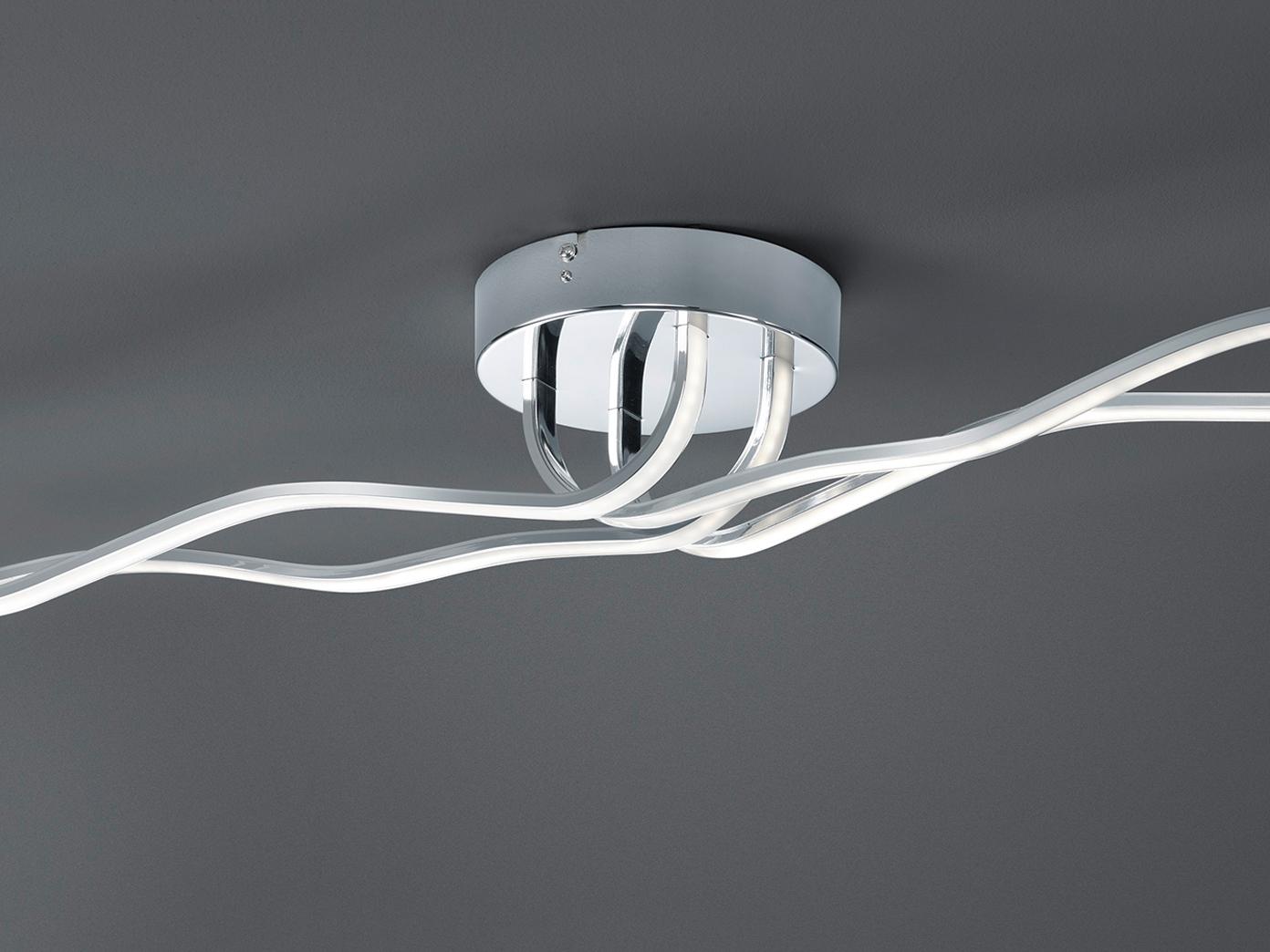 Trio Design LED Deckenleuchte dimmbar Deckenlampe Wohnzimmer Schlafzimmer Flur  eBay