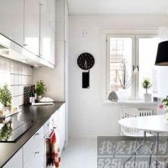 White Kitchen Cabinets Lowes Sink 94平可爱灰色空间 散发无尽柔情韵律感 - 家居装修知识网