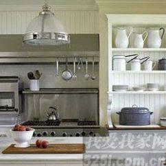 Country Kitchen Sink Sideboard Cabinet 12款最in厨房样板 打造厨房新风尚 - 家居装修知识网