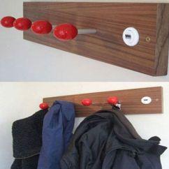 Kids Wooden Kitchen Frigidaire Package 墙面收纳革新派 个性定制10款创意挂钩 - 家居装修知识网