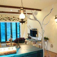 Kitchen Carpet Sets Glad Bags 10万元装修71平地中海风格温馨美家(组图) - 家居装修知识网