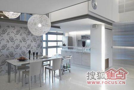 lowes kitchen hood ikea storage cabinets 12款创意厨房设计 80后装修不走寻常路(图) - 家居装修知识网