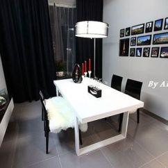 Blanco Kitchen Sink Corner Cabinets 简爱的黑白灰空间 220平时尚家居剪影(组图) - 家居装修知识网