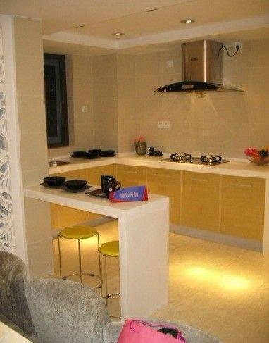 kitchen cleaning mixer machine 小户型家装设计 更应该选择开放式厨房(图) - 家居装修知识网