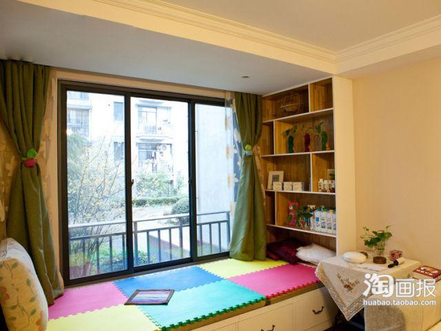 kitchen ceiling fan cabinets utah 90平米现代简约家!阳台垫高当地台做休闲区 - 家居装修知识网