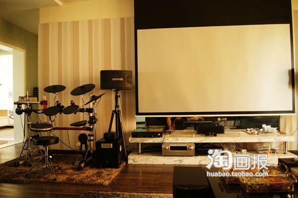 kitchen drum light walmart cabinets 文艺老青年的家 最精彩的白色温馨家(组图) - 家居装修知识网
