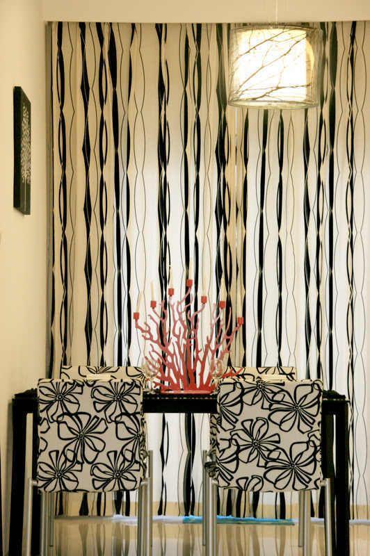 lowes kitchen remodel led strip lights in 砸墙增空间78平变身3室2厅 黑白六边形(图) - 家居装修知识网