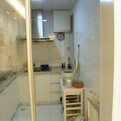 Ikea Kitchen Countertops Light Fixtures For Kitchens 12万装修75平简约家 小两居清爽又大气(图) - 家居装修知识网
