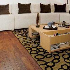 Kitchen Flooring Trends Cabinets In Oakland Ca 色彩的爆炸 现代客厅地板的流行样式欣赏(图) - 家居装修知识网