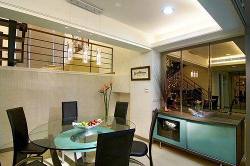 backyard kitchen designs restoring cabinets 优雅采光 现代简约品味复式别墅(组图) - 家居装修知识网