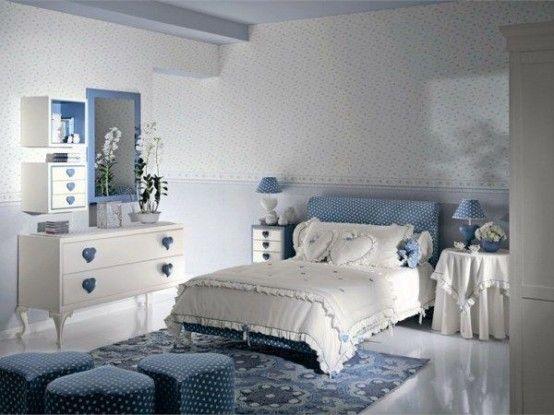 公主的色彩世界 28個少女房間設計鑒賞 - 家居裝修知識網