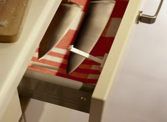 "kitchen knife storage cabinet base 巧妙收纳架 让你的厨房空间""立""起来(组图) - 家居装修知识网"