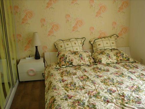 cute kitchen rugs cabinet repainting 传统三室两厅装修案例 温馨可爱美家(组图) - 家居装修知识网