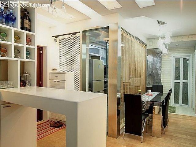 kitchen pots and pans equipment 创意打造时尚婚房 不规则客厅背景墙设计(图) - 家居装修知识网