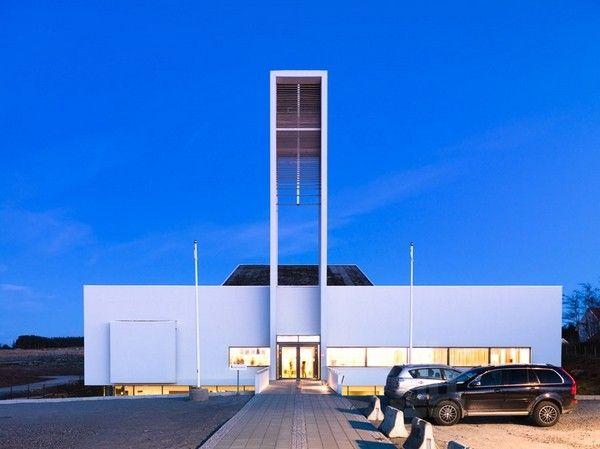 kitchen reface depot metal shelves ikea 现代简约风格 挪威别具一格的教堂设计(组图) - 家居装修知识网