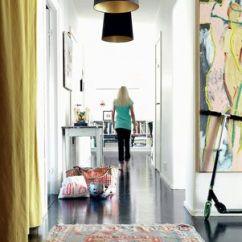 Paint Colors Kitchen Shelf Organizers 时尚色彩碰撞 黑色地板激发创意灵感(图) - 家居装修知识网