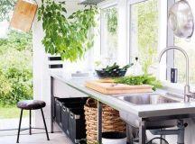 厨房大变身 厨房阳台装修效果图欣赏 - 家居装修知识网