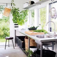 Kitchen Corner Shelf Backsplash Tile 厨房大变身 厨房阳台装修效果图欣赏 - 家居装修知识网