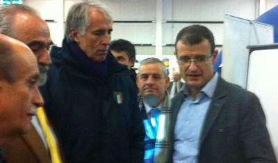 Anche il Presidente del Coni Giovanni Malagò prova BiXe.
