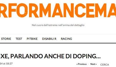 Performancemag di dicembre prova la FIXED realizzata da biXe per BORN TO RUN: Tester d'eccezione Gianluca Santilli.