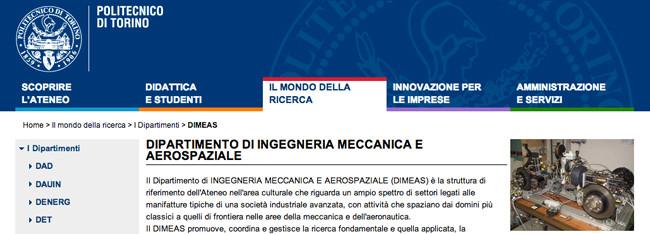 Sottoscritto il protocollo d'intesa tra biXe e il DIMEAS (Dipartimento di Ingegneria Meccanica ed Aereo Spaziale del politecnico di Torino).
