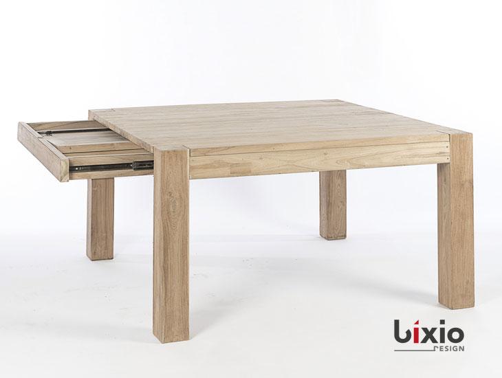 Tavolo quadrato allungabile  Bixio Design