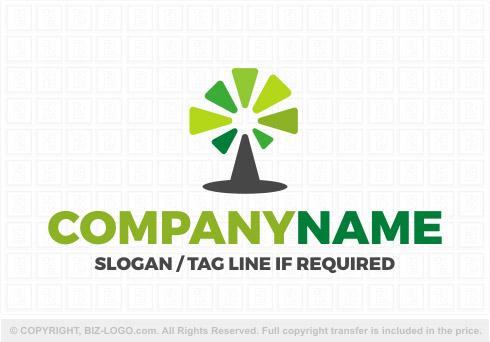 landscaping tree logo
